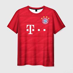 Футболка мужская FC Bayern: Home 19-20 цвета 3D — фото 1