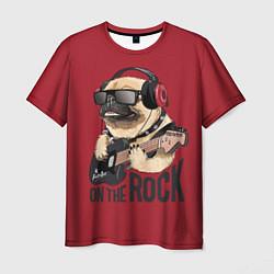 Мужская футболка On the rock