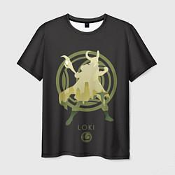 Мужская 3D-футболка с принтом Loki, цвет: 3D, артикул: 10184023103301 — фото 1
