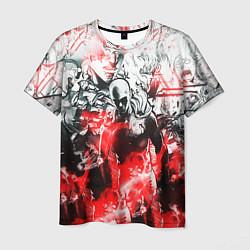 Мужская 3D-футболка с принтом One-Punch Man Collage, цвет: 3D, артикул: 10204598703301 — фото 1