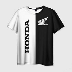 Мужская 3D-футболка с принтом HONDA, цвет: 3D, артикул: 10240222503301 — фото 1