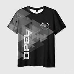 Футболка мужская OPEL цвета 3D — фото 1