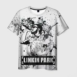 Футболка мужская Linkin Park цвета 3D — фото 1