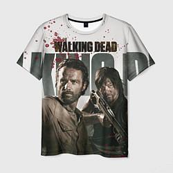 Мужская 3D-футболка с принтом Walking Hunters, цвет: 3D, артикул: 10073072603301 — фото 1