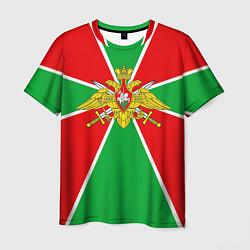 Футболка мужская Флаг ПВ цвета 3D — фото 1