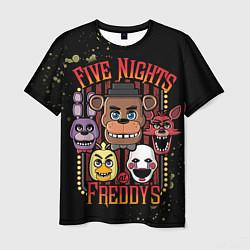 Футболка мужская Five Nights At Freddy's цвета 3D — фото 1