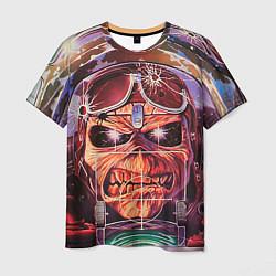 Футболка мужская Iron Maiden: Dead Rider цвета 3D — фото 1