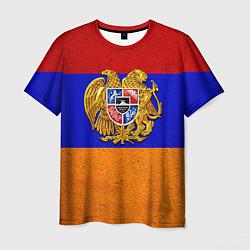 Футболка мужская Армения цвета 3D-принт — фото 1