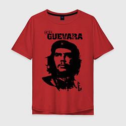 Футболка оверсайз мужская Che Guevara цвета красный — фото 1