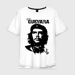 Футболка оверсайз мужская Che Guevara цвета белый — фото 1