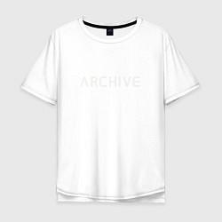 Футболка длинная мужская Archive - фото 1