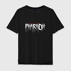 Футболка оверсайз мужская Pharaoh / Coldsiemens цвета черный — фото 1