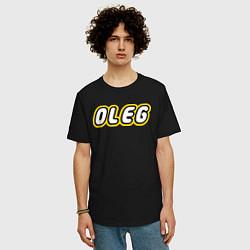 Футболка длинная мужская Oleg - фото 2