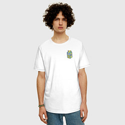 Футболка оверсайз мужская Lyrical Lemonade цвета белый — фото 2