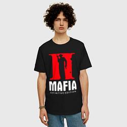 Футболка оверсайз мужская MAFIA 2 DEFINITIE EDITION цвета черный — фото 2