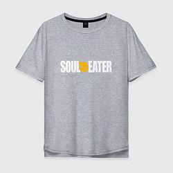 Мужская футболка оверсайз Soul Eater: White