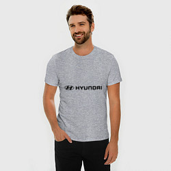 Футболка slim-fit Hyundai - фото 2