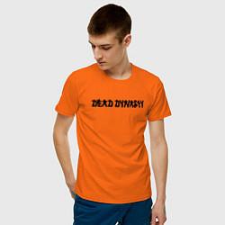 Футболка хлопковая мужская Pharaoh Dead Dynasty цвета оранжевый — фото 2