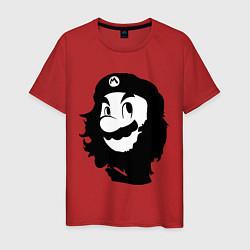 Футболка хлопковая мужская Che Mario цвета красный — фото 1