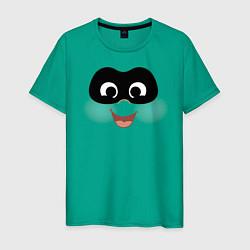 Футболка хлопковая мужская The Incredibles цвета зеленый — фото 1