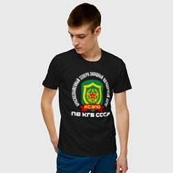 Футболка хлопковая мужская КСЗПО СССР цвета черный — фото 2