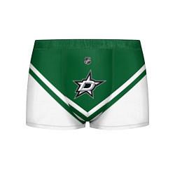 Трусы-боксеры мужские NHL: Dallas Stars цвета 3D — фото 1