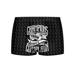 Трусы-боксеры мужские Champions Train цвета 3D — фото 1