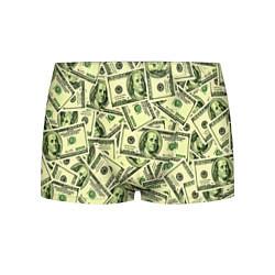 Трусы-боксеры мужские Benjamin Franklin цвета 3D-принт — фото 1