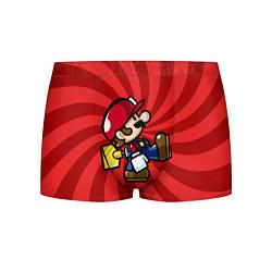 Трусы-боксеры мужские Super Mario: Red Illusion цвета 3D-принт — фото 1