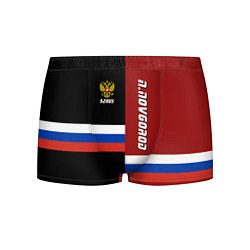 Трусы-боксеры мужские N Novgorod, Russia цвета 3D — фото 1