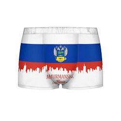 Трусы-боксеры мужские Murmansk: Russia цвета 3D-принт — фото 1