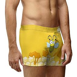 Трусы-боксеры мужские Веселая пчелка цвета 3D — фото 2
