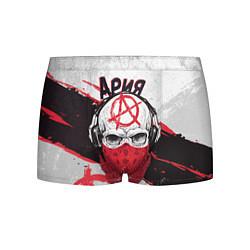 Трусы-боксеры мужские Ария: Анархия цвета 3D — фото 1