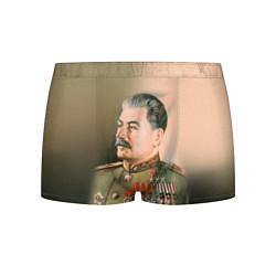 Трусы-боксеры мужские Иосиф Сталин цвета 3D — фото 1