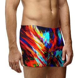Трусы-боксеры мужские Акварель цвета 3D — фото 2