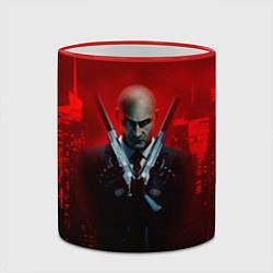Кружка 3D Hitman: Red Blood цвета 3D-красный кант — фото 2