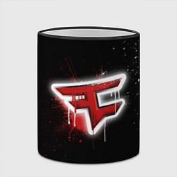 Кружка 3D FaZe Clan: Black collection цвета 3D-черный кант — фото 2