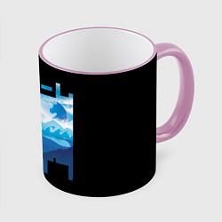 Кружка 3D No Game No Life цвета 3D-розовый кант — фото 1