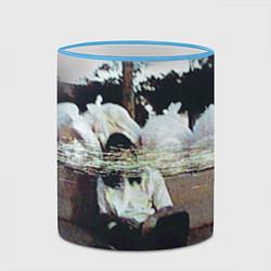 Кружка 3D Bones Rap цвета 3D-небесно-голубой кант — фото 2