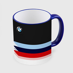 Кружка 3D BMW M SPORT цвета 3D-синий кант — фото 1