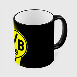 Кружка 3D FC Borussia Dortmund: Storm цвета 3D-черный кант — фото 1