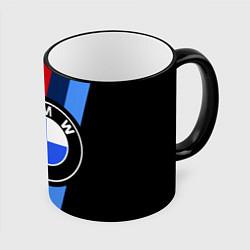 Кружка 3D BMW M: Black Sport цвета 3D-черный кант — фото 1