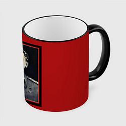 Кружка 3D Сталин цвета 3D-черный кант — фото 1