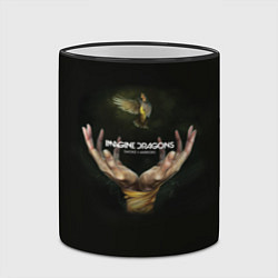 Кружка 3D Imagine Dragons: Smoke + Mirrors цвета 3D-черный кант — фото 2