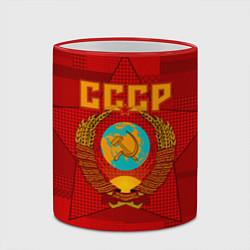Кружка 3D СССР цвета 3D-красный кант — фото 2