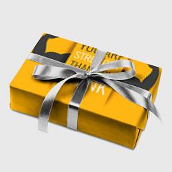Бумага для упаковки You are stronger цвета 3D — фото 2
