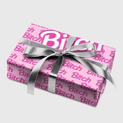 Бумага для упаковки Bitch Barbie цвета 3D-принт — фото 2