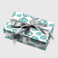 Бумага для упаковки Бриллианты цвета 3D — фото 2