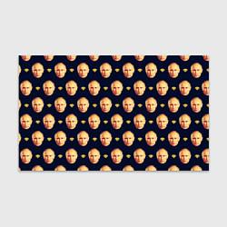 Бумага для упаковки Putin Dope Pattern цвета 3D — фото 1
