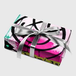 Бумага для упаковки Blink-182: Purple Smile цвета 3D-принт — фото 2